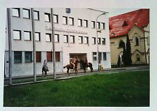Vintage Photography PHOTO FROM GERMANY 3 HORSES CONGREGATING OUTSIDE GERMAN BANK