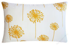 Yellow / White Dandelion Decorative Throw Pillow Cover/Cushion Cover 12x18""