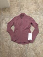 NWT Lululemon Define Jacket 4 XS Quicksand Yoga Top Long Sleeve