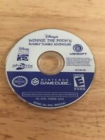 Winnie the Pooh's Rumbly Tumbly Adventure (Nintendo GameCube, 2005) Working Game