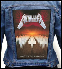 METALLICA - Master Of Puppets --- Giant Backpatch Back Patch