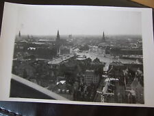 Copenhagen, Aerial View, 1938 R/Photo/Postcard