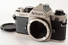 Nikon New FM2T Titanium 35mm SLR Film Camera       (3852