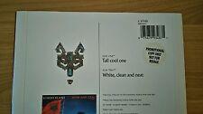 "RARE Robert Plant Tall Cool One UK 7"" Promo Sticker A9348 Led Zeppelin Pop Rock"