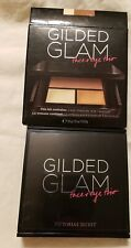 Victoria's Secret Eye Shadow GILDED GLAM FACE AND EYE TRIO MIRROR COMPACT
