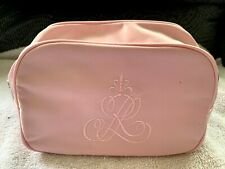 NEW Ralph Lauren Romance Pink Make up Bag Cosmetics Toiletries Travel