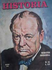 Historia n°64 1963 - Winston Churchill - Pittore Boldini - La Gioconda   [P5]