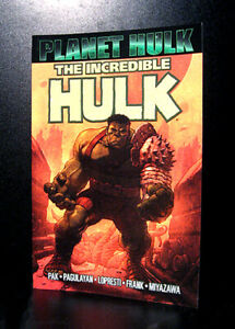 COMICS: Marvel: Incredible Hulk: Planet Hulk tradepaperback (2016, 9th Print)