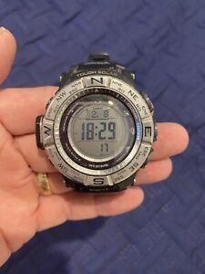 Casio Protrek Tough Solar Power Triple Sensor Men's Watch PRG-130