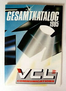 VIDEO-GESAMTKATALOG 1985 VCL BROSCHÜRE 100 Seitig Video-Programme KLEINFORMAT