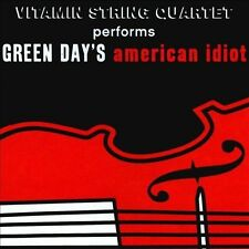 NEW Vitamin String Quartet performs Green Day's American Idiot (Audio CD)