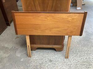 Vintage Slumberland Brown Solid Wooden 3ft Single Headboard