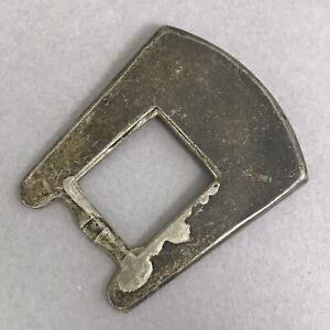 Vintage Nelson Silvia Company Sterling Silver Belt Buckle