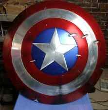 [ Metal ] CATTOYS 1/1 Captain America Shield Prop Damaged veteran limit Version