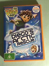 GO DIEGO GO Diego's Arctic Rescue DVD -LIKE NEW -Get it Fast!