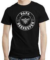 Papa Beekeeper - Bee Whisperer Retro Style Beekeeping Dad Father T-shirt Tshirt