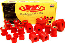 Polybush Vehicle Bush Set for Toyota MR2 Roadster, ZZW3, 1999-2007: Kit112