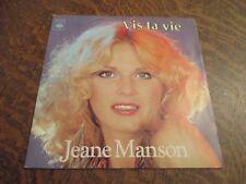 45 tours JEANE MANSON vis ta vie