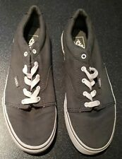 VANS OF THE WALL GREY TRAINERS SHOES SIZE 4.5
