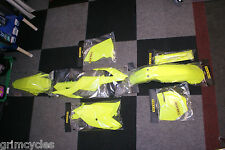 Flow Yellow Plastic Kit for Honda CRF250R:14-17, CRF450R:13-16