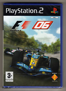 PS2 Formula One 06, UK PAL, Rare 1st Print, Brand New & Sony Factory Sealed