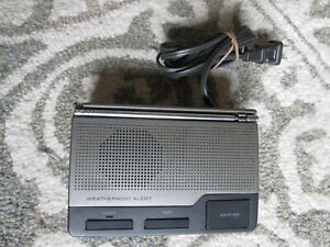 Radio Shack 12-240 Weather Alert Weatheradio Three-Channel W Battery Back Up