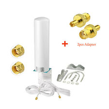 Omni 3G 4G LTE MIMO External Antenna SMA 5M & TS9 for Huawei H112 Signal Booster