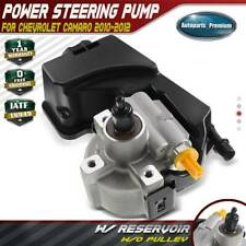 Power Steering Pump w/ Reservoir for Chevrolet Camaro V8 6.2L 2010-2012 20-3023