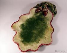 Vintage 1940's Gort Bone China Acorn & Leaf Tray