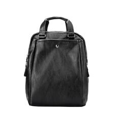 Women Genuine Leather Backpack Fashion Bag Men Laptop Purse Travel School Medium