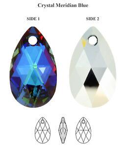 Genuine SWAROVSKI 6106 Pear Shape Teardrop Crystal Pendants* More Colors & Sizes