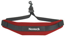 NEOTECH SOFT SAX STRAP, RED, COMFORTABLE SAX SLING, UK POST FREE