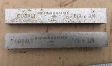 "Lot Of Two Cobalt HSS Toolbits, 5/8x3/4"""