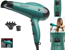 Revlon Professional 1875W Ionic Hair Blow Dryer with Diffuser Salon Pro 2 Speed