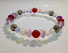 PCOS / ENDOMETRIOSIS / FIBROIDS / HORMONE BALANCE - GEMSTONE BEADED BRACELET