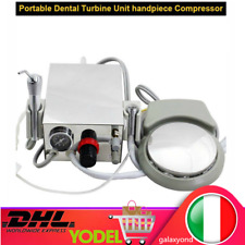 Dentista Odontotecnico Meccanico Turbina 4 Hole Dental Portable Turbine Unit DE