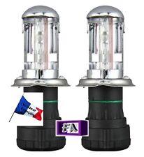 2 ampoules H4 bi xénon H4-3 35W de remplacement HID 8000K 10000K