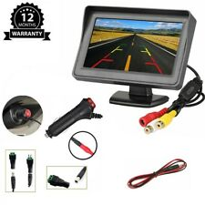 4.3 inch LCD Color Car Rear View Monitor TFT Screen For Reverse Backup Camera