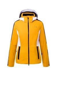 Kjus Damen Formula Jacke, Farbe: gold honey yellow/black, Modell: 2021
