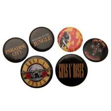 Guns N Roses Botón Insignia Juego Producto Oficial