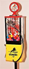GILMORE ETHYL GASOLINE FULLY RESTORED GUMBALL MACHINE 60's-70's FROM THE USA