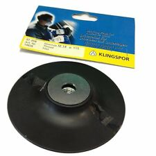 Klingspor 115mm backing pad for fibre discs, professional backing pad sanding