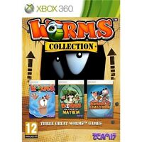 Worms Collection XBOX 360 Video Game Original UK Release Mint Condition