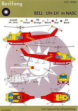 Bestfong Decals 1/72 BELL UH-1 HUEY Chinese National Airborne Service Corps