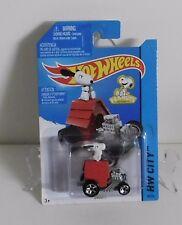 Hot Wheels - Snoopy - HW CITY - Long Card # 88
