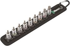 """Wera Zyklop 1/4"""" Hex Socket Belt Set With Holding Function Imperial 05003884001"""