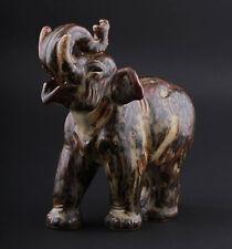Royal Copenhagen, Knud Kyhn. Elephant # 21517, Stoneware. Made In Denmark. Rare
