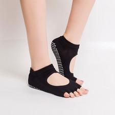New Gym Sports Yoga Socks Non-Slip Full&Half Toe Pilates Ankle Grip Cotton Socks