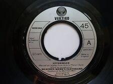 """MANFRED MANN'S EARTHBAND - Joybringer, 1973 7"""" Vinyl 6059083.1"""