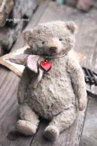 Sewing Kit For 5,5-6 Inch Bear Includes Silk Ribbon And Beautiful Heart Charm